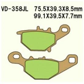 KLOCKI HAMULCOWE VESRAH VD-358JL (FA401)