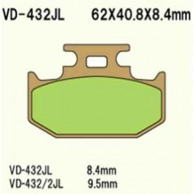 KLOCKI HAMULCOWE VESRAH VD-432JL