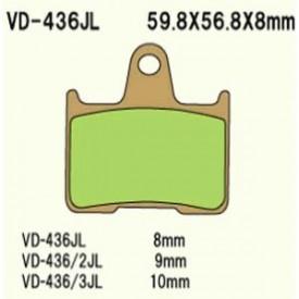 KLOCKI HAMULCOWE VESRAH VD-436/2JL