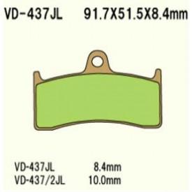 KLOCKI HAMULCOWE VESRAH VD-437JL (FA424)