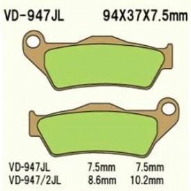 KLOCKI HAMULCOWE VESRAH VD-947JL (FA181)