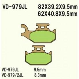 KLOCKI HAMULCOWE VESRAH VD-979JL