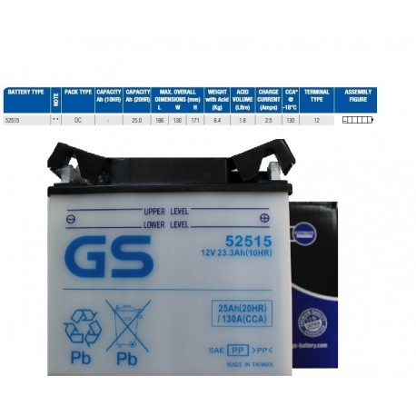 AKUMULATOR GS 52515