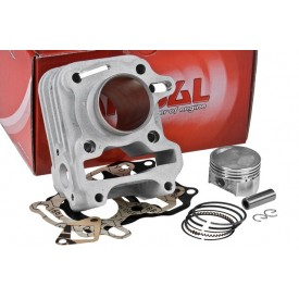Cylinder Kit Airsal Sport 63cc, SYM Mio 50 4T / Peugeot Speedfight III 4T (bez głowicy)