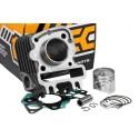Cylinder Kit Tec HQ 50cc, Italjet / Piaggio / Vespa 50 4T (bez głowicy)