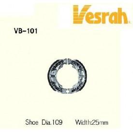 SZCZĘKI HAMULCOWE VESRAH VB-101 (EBC 303) ZX/BW/VIT/AG50/MXER