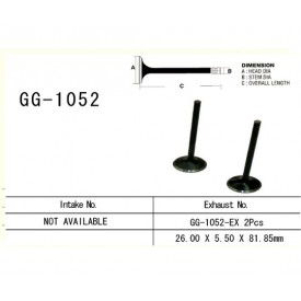 VESRAH - ZAWÓR SILNIKA GG-1052-EX HONDA CRF250R 04-09 CRF250X 04-15