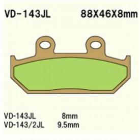 KLOCKI HAMULCOWE VD-143JL