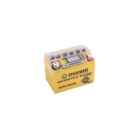 Akumulator AGM (I-Gel) MTX4L-BS Moretti ze wskaźnikiem
