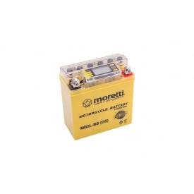 Akumulator AGM (I-Gel) MB5L-BS Moretti ze wskaźnikiem