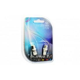 Żarówka diodowa (led) blister L015 - W5W 1W HP biała