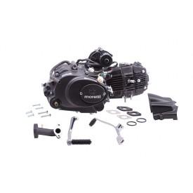 Silnik Moretti poziomy 152FMH, 110cc 4T, 4-biegowy manual, czarny, z gaźnikiem