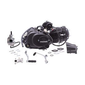 Silnik Moretti poziomy 154FMI, 125cc 4T, 4-biegowy Automat, Czarny, z gaźnikiem