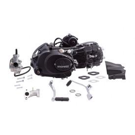 Silnik Moretti poziomy 154FMI, 125cc 4T, 4-biegowy Manual, Czarny, z gaźnikiem