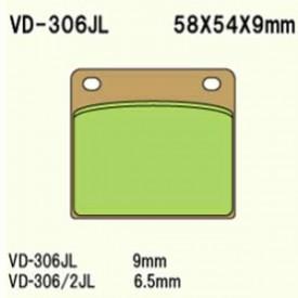 KLOCKI HAMULCOWE VESRAH VD-306JL