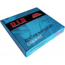 ZESTAW NAPĘDOWY HONDA XL125 01-13 VARADERO DID520VX2 112 JTF327.14 JTR273.44 (520VX2-JT-XL125 01-13 VARADERO)