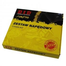ZESTAW NAPĘDOWY YAMAHA YFM350 04-13 RAPTOR DID520ATV 98 JTF569.13 JTR1857.38